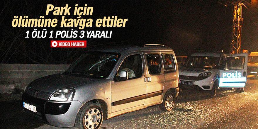 Konya'da park kavgası: 1 ölü