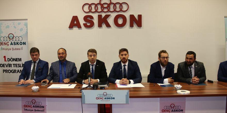 Genç ASKON Konya'da görev değişimi