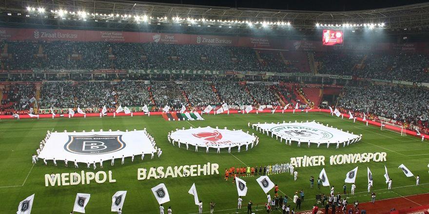 Konyaspor Başakşehir final maçı açılış seramonisi