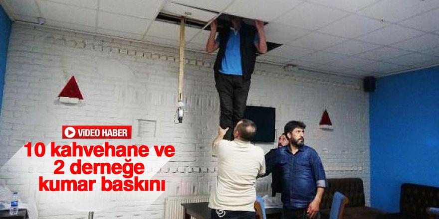 Konya'da kumar ve tombala operasyonu