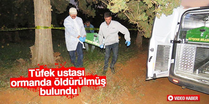 Tüfek ustası ormanda öldürülmüş bulundu