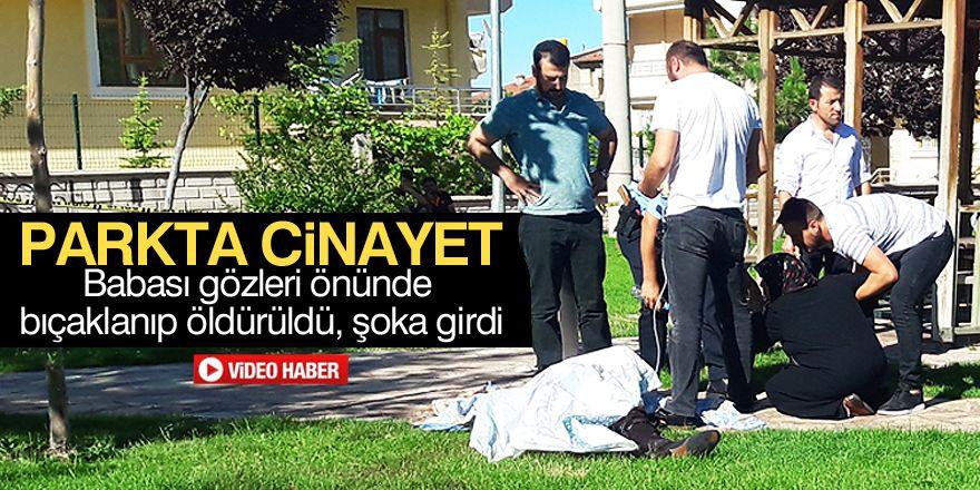 Konya'da cinayet: 1 ölü