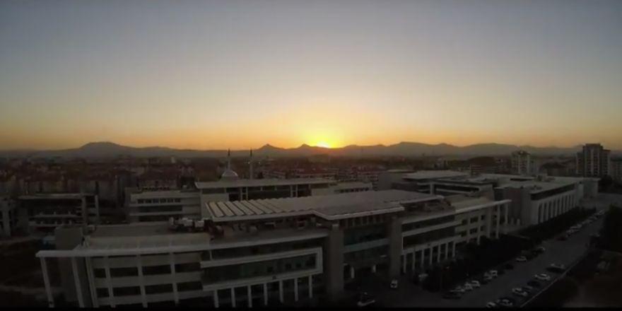 Uçan Göz Drone ile Konya gün batımı