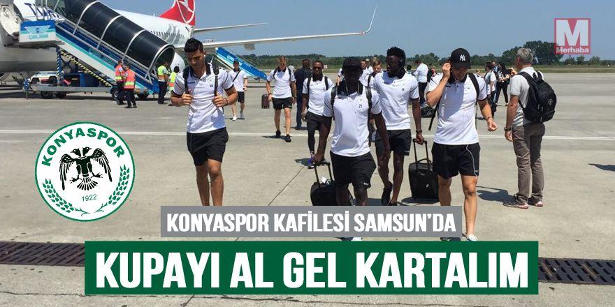 Atiker Konyaspor'umuz Süper Kupa için Samsun'a indi