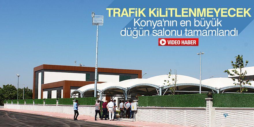 Konya'nın en büyük düğün salonu tamamlandı
