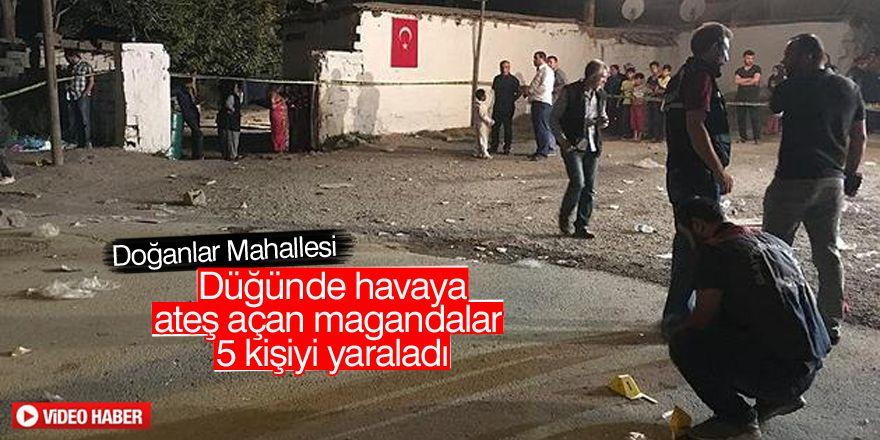 Konya'da düğünde havaya rastgele ateş açıldı: 5 yaralı