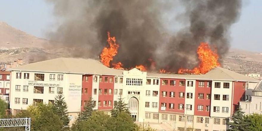 İHL'de büyük yangın!