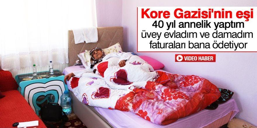 Kore Gazisi eşine üvey evlat zulmü