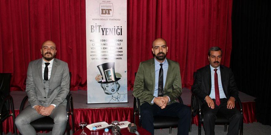 Konya Devlet Tiyatrosu 20.Sanat yılını kutlamaya hazırlanıyor