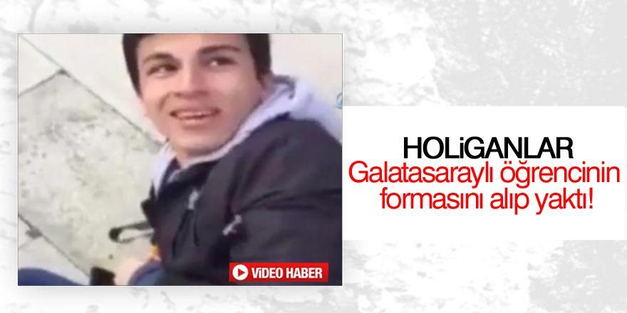 Galatasaray taraftarına çirkin saldırı