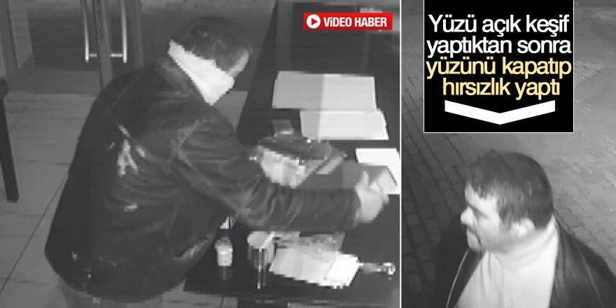 Konya'da ilginç hırsızlık!