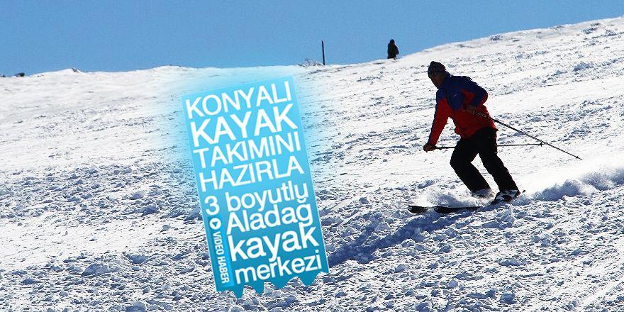Aladağ Kayak Merkezi Aralık ayında açılıyor