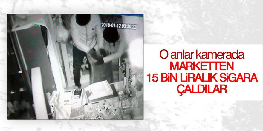 Konya'da 15 bin liralık soygun kamerada