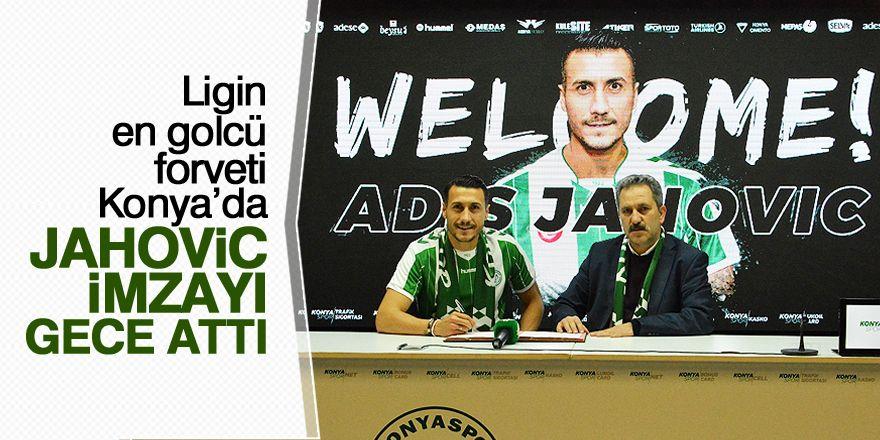 Kartal'ın yeni gol umudu Jahovic