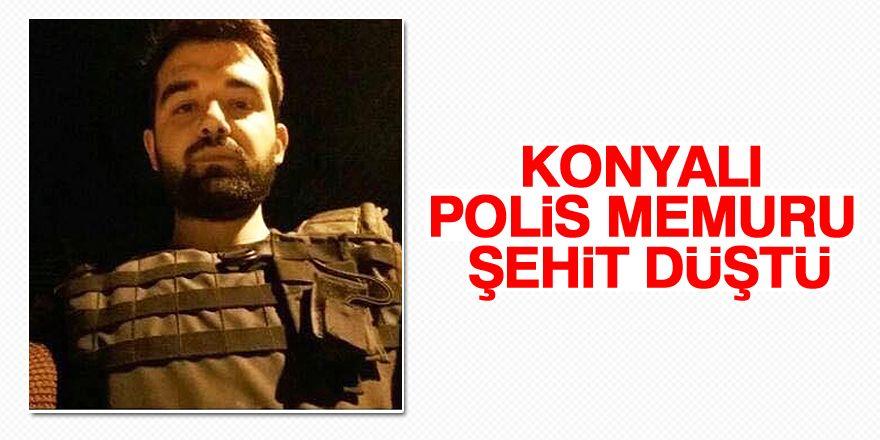 Konyalı polis memuru şehit düştü